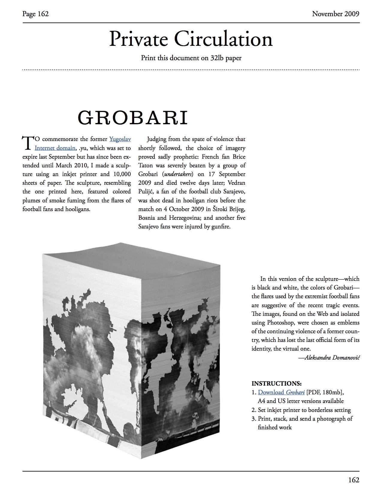 Grobari | Net Art Anthology