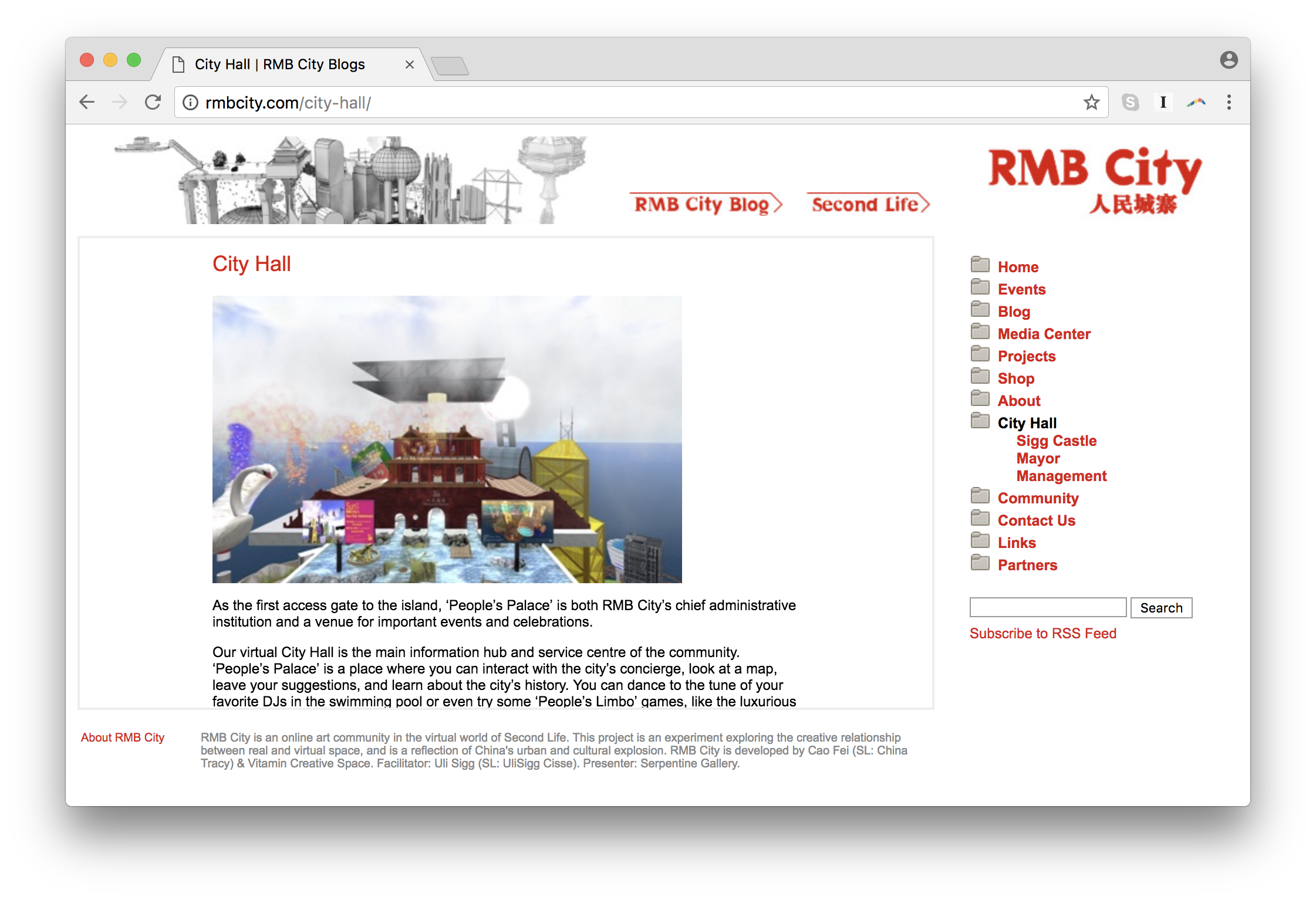 RMB City | Net Art Anthology